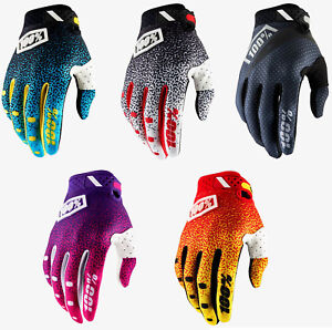 2018 100/% RIDEFIT MOTOCROSS MX BIKE GLOVES RED YELLOW mtb