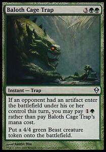 4x Baloth Cage TrapZendikarMTG Magic The Gathering Cards