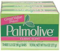 Palmolive Bath Bar Soap, Classic Scent 3.20 Oz, 3 Ea (pack Of 9) on sale