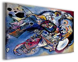 Quadro Wassily Kandinsky vol IV Quadri famosi Stampe su tela ...