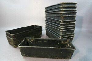 16 Pièces Metal Brotbackform Moule Forme Brotform #29273-afficher Le Titre D'origine