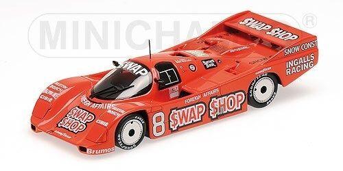 Porsche 962 IMSA SWAP SHOP Foyt Wollek  Winners 12 H Sebbague 1985 1 43 Model  exclusif