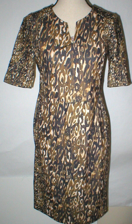 Nueva camiseta para mujer 2 Nuevo con etiquetas Diseñador  Escada Sport Vestido Estampado de Leopardo ejunka 38 a la rodilla  precios ultra bajos
