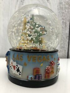 Welcome-to-Fabulous-Las-Vegas-Nevada-Musical-Snow-Globe-Good-Used-Condition