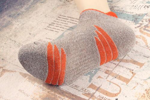 5 Pairs Mens Sport Cotton Crew Socks Ankle No Show Low Cut Athletic Dress Socks