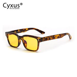 Cyxus Women S Blue Light Blocking Yellow Glasses For Computer Use Anti Eyestrain Ebay