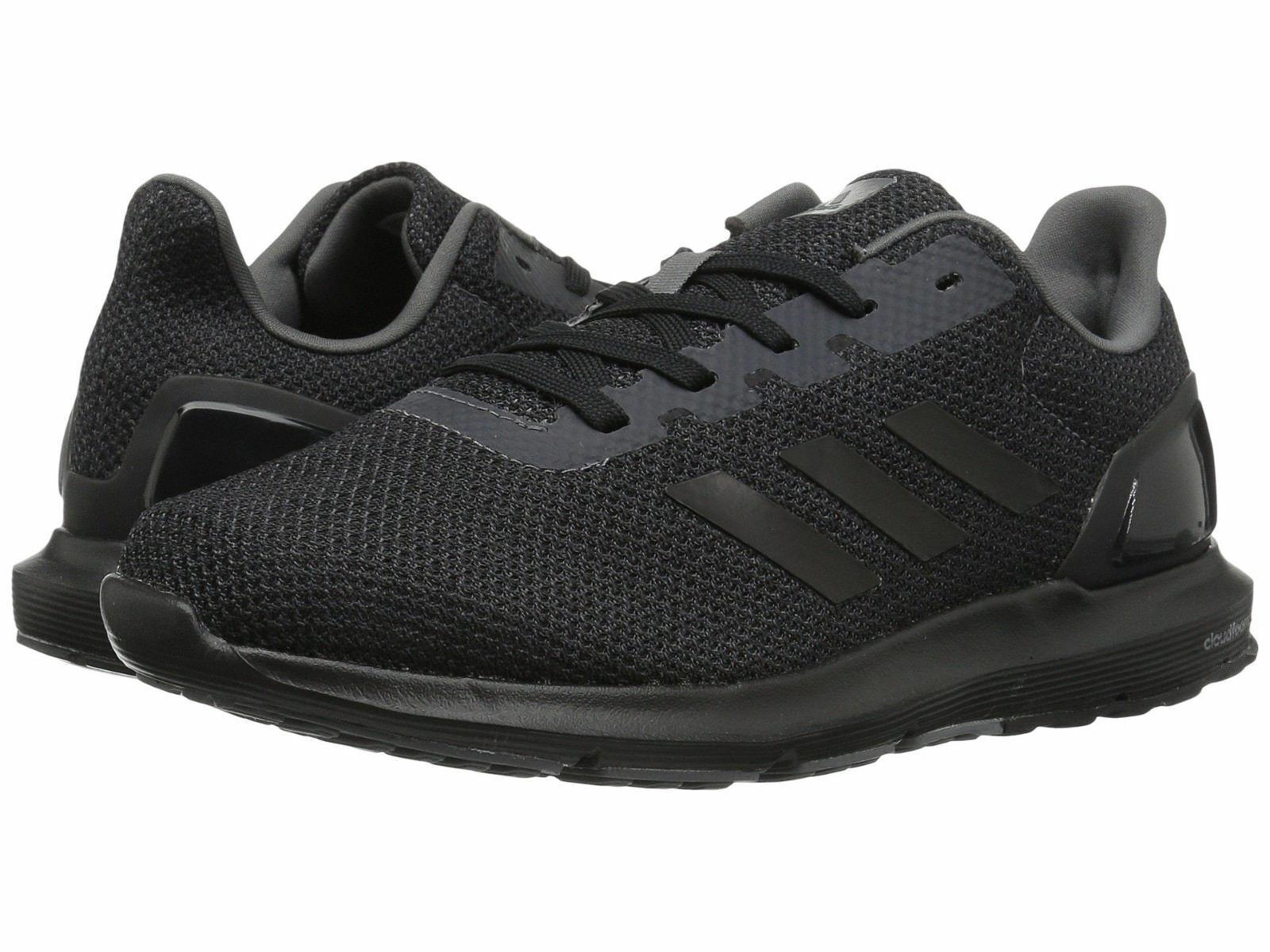 Men Adidas Cosmic 2 SL Running Mesh Upper CQ1711 Black Black 100% Authentic New