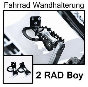 2-RAD-BOY-FAHRRAD-Wandhalter-Fahrradhalter-FAHRRADSTANDER-Fahrradhalterung