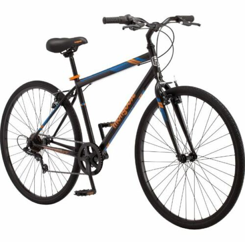 Mens Bicycle Front Suspension Street Bike Commuter City Cruiser Hybrid Beach Fit