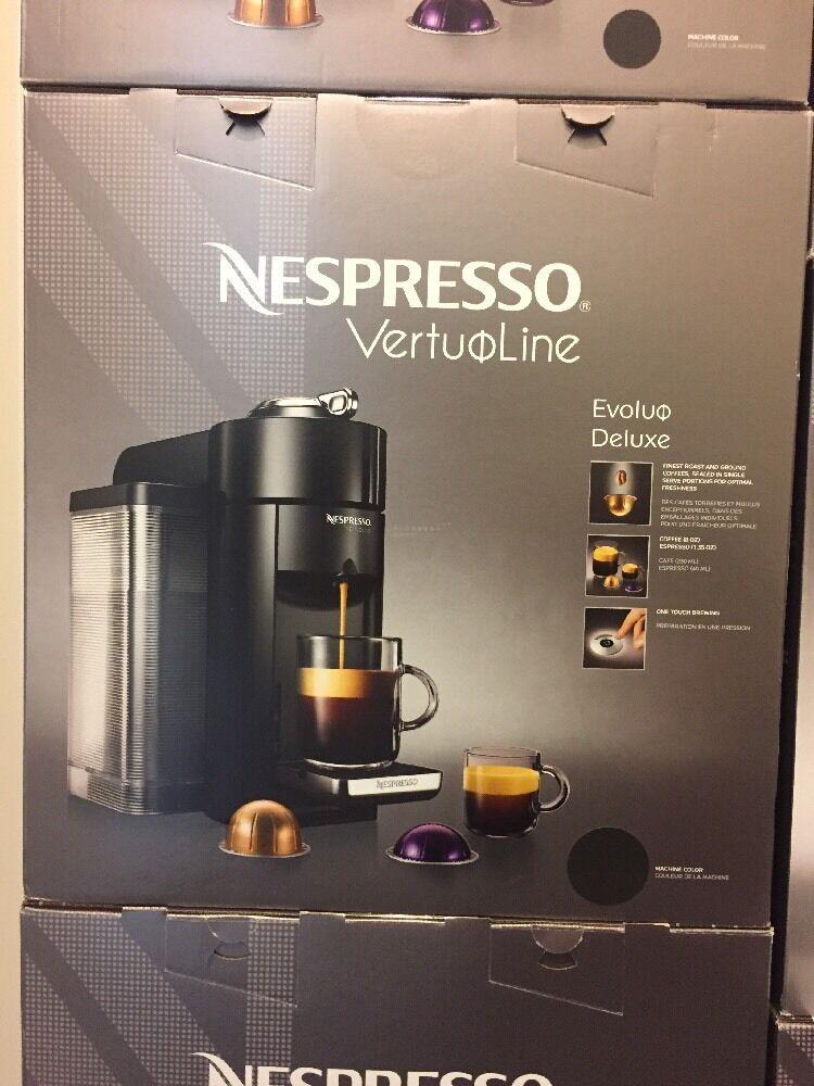 Neuf Nespresso Vertuoline Evoluo Deluxe