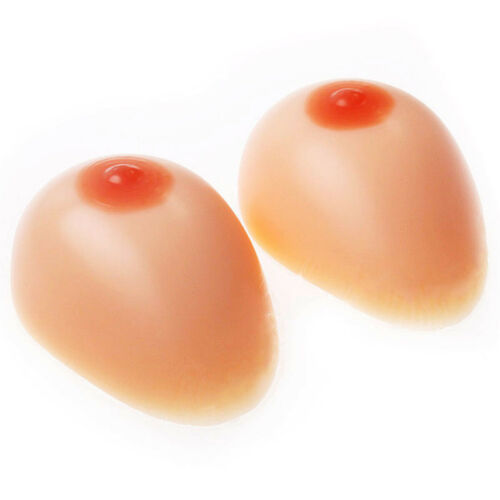 Silicone Breast Crossderss Soft False Boobs Mastectomy Prosthesis D-I Cup TG TV