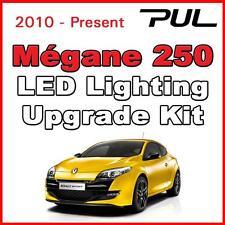 Renault Sport Megane 225/230/250 / 265 Led Interior, alumbrado lateral Kit Blanco Puro