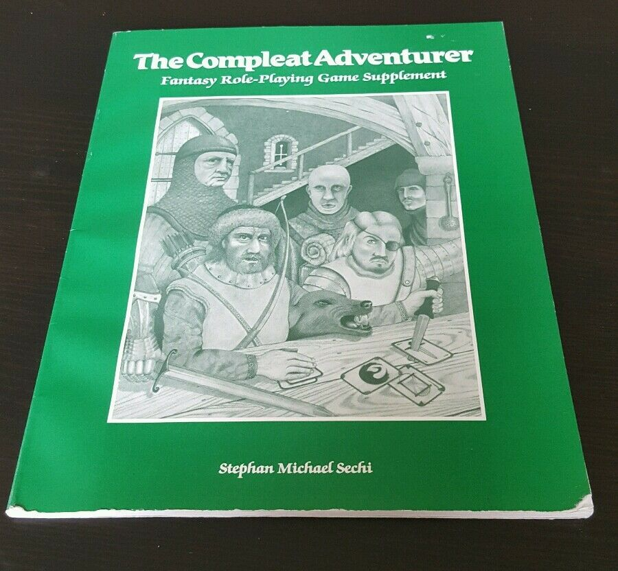 The Compleat Adventurer  Fantasy Role-Playing Game Supplement RPG stats