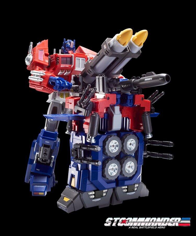 NEW Transformers TFC STC-01B Commander Optimus Prime Jungle Ver In Stock