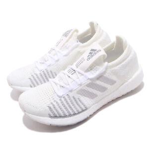 Dettagli su adidas PulseBOOST HD W White Grey Womens Running Shoes Adapt Knit FU7344