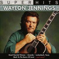Waylon Jennings - Super Hits [new Cd] on Sale