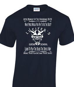 Robert Johnson Best Ever Blues Guitar Crossroads devil printed t-shirt 9094
