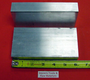 """4 Pieces 1-1//4/""""x 1-1//4/"""" SQUARE ALUMINUM 6061 SOLID BAR 12/"""" long T6511 Mill Stock"""