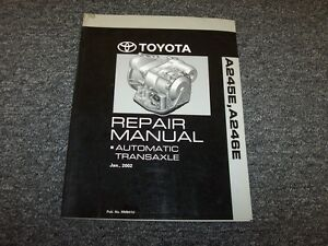 2003 2004 2005 toyota corolla matrix a246e transmission service rh ebay com 2005 toyota matrix xr owners manual pdf 2005 corolla s owners manual