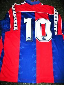 buy popular f0444 03717 Details about Romario Kappa Barcelona Jersey 1994 1995 Shirt Camiseta  Trikot Maglia Brazil XL