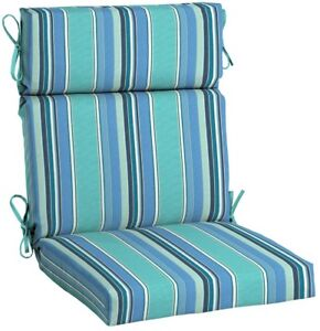 Image Is Loading Outdoor Dining Chair Seat Cushion High Back Sunbrella