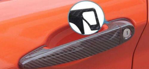 Carbon Fiber Car Door Handle Cover For BMW F22 F23 w// Smart Key Hole AA