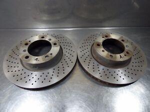 Original-Porsche-Boxster-987-3-2-S-2005-2012-1-paar-vorne-Bremsscheiben