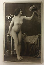 ORIGINAL FRENCH EROTIC RPPC NUDE SEXY POST CARD #13 Jean Agelou?