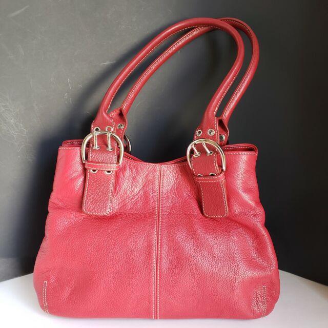 Leather Handbag 2 Handle Straps Medium