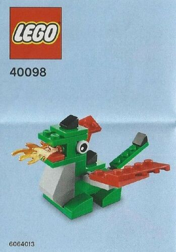 LEGO 40098 Dragon Monthly build