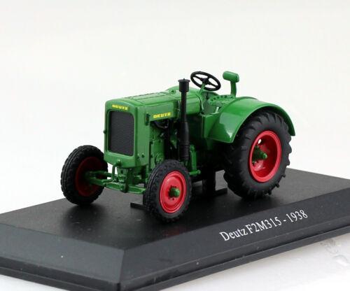 Deutz f2m 315 1938 verde tractor 1:43 uh universal hobbies maqueta de coche