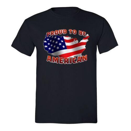 American Flag distressed 4th of July T-shirt Clothing USA Pride Shirt Black