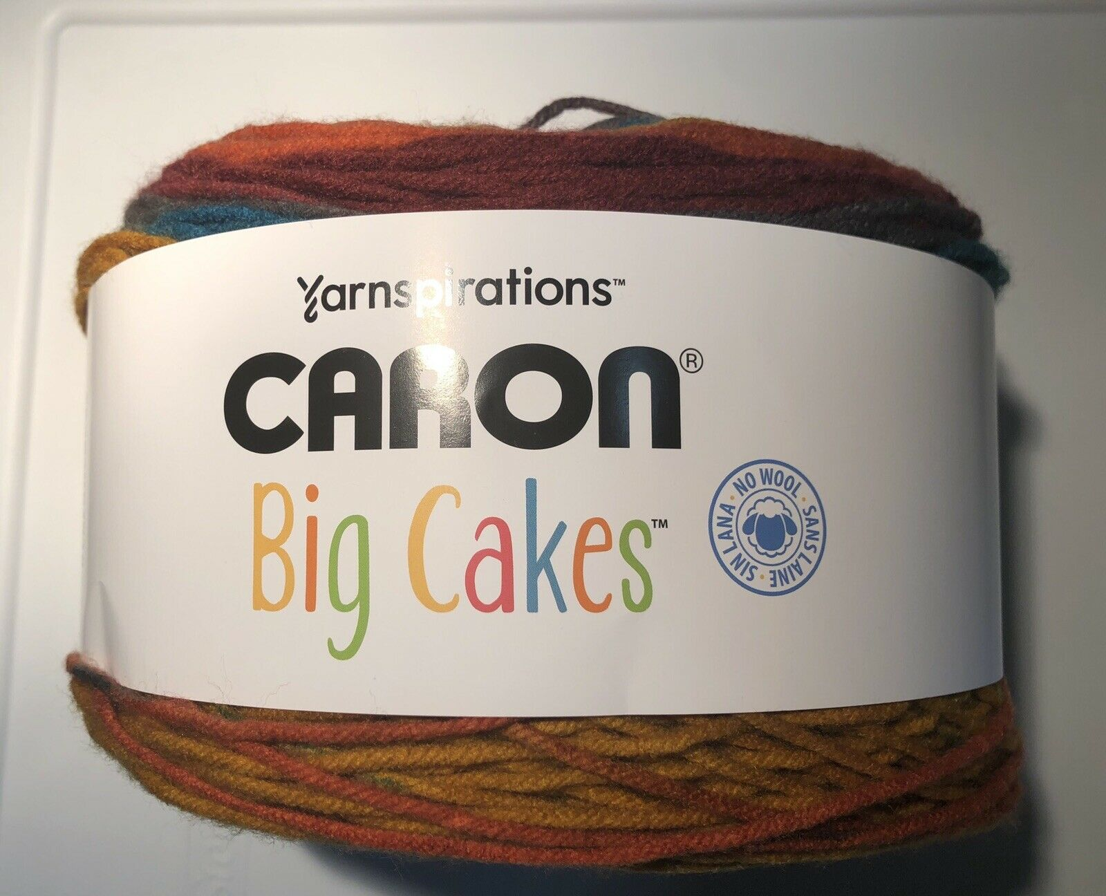 Toffee Brickle Big Cakes Caron Yarn