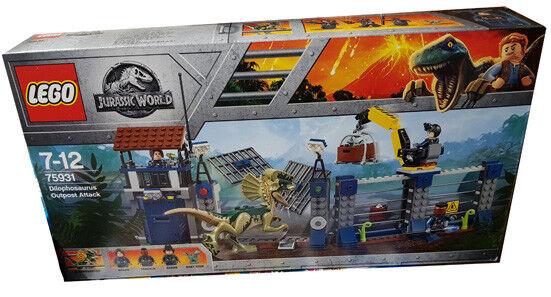 LEGO® 75931 Angriff des Dilophosaurus NEU OVP