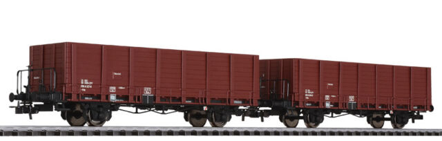 Liliput L230124 Set de Vagones Plataforma con Teleros Sbb-Cff Epoche IV H0 1:87