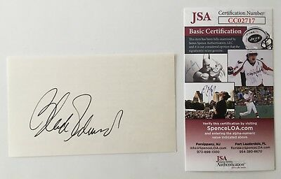 Autographs-original Blake Edwards Signed Autographed 3x5 Card Jsa Certified Breakfast At Tiffany's