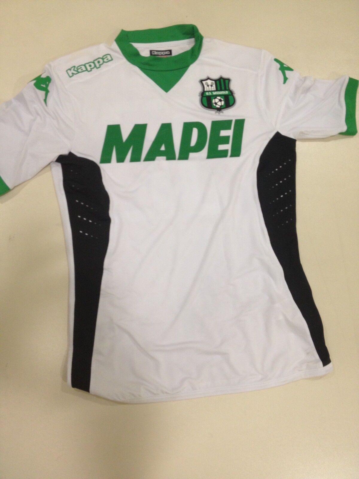 Maglia Sassuolo Kappa  Gara 2015 2016 Defrel Shirt Camiseta size L
