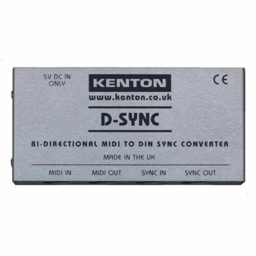 Kenton D Sync Bi Directional MIDI To DIN Sync Converter