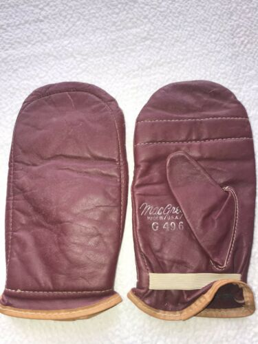 Rare Mac Gregor Vintage Leather Mitten USA Boxing