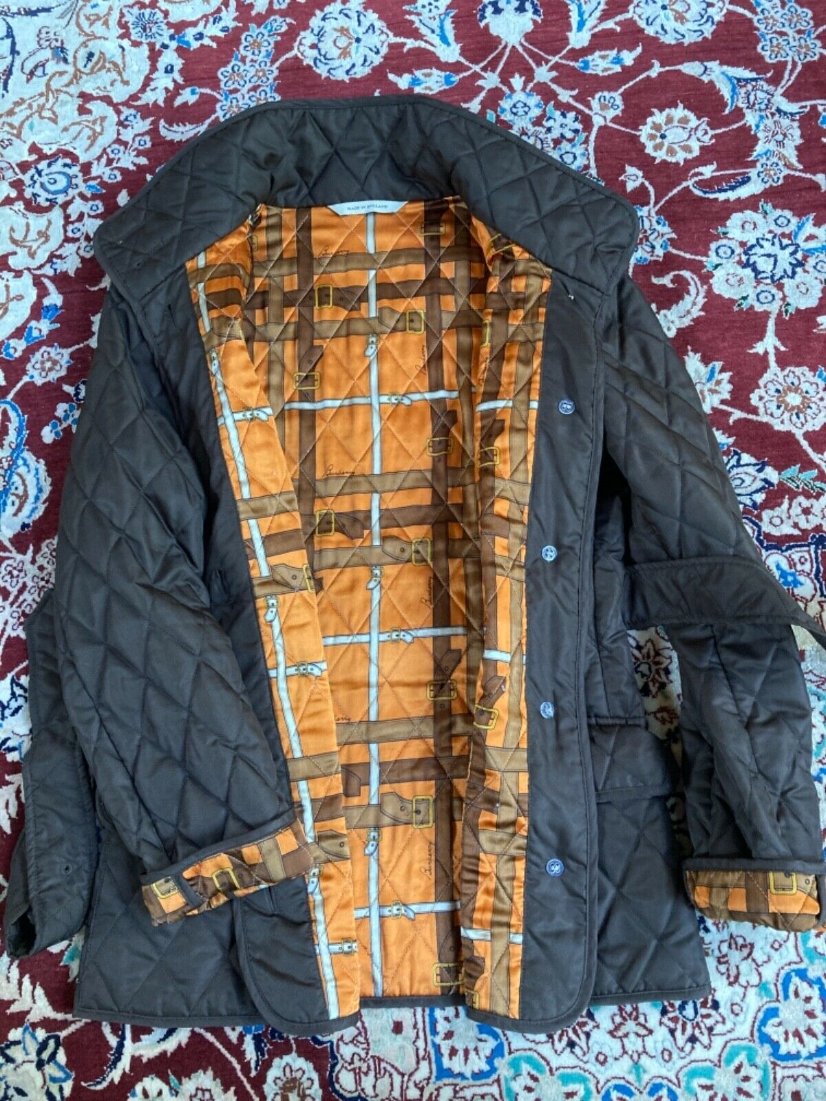 Burberry womens quilted jacket - image 2