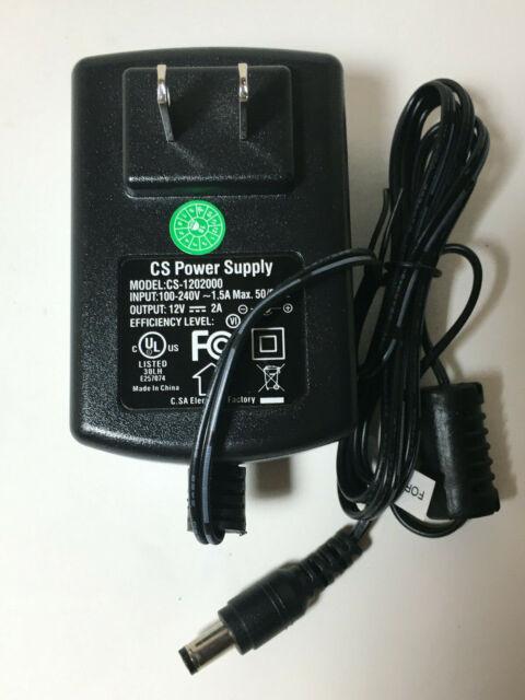 20 Pack DC 12V 1A Security Camera Power Supply Adapter for DVR CCTV Surveillance