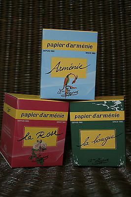 Candle Papier D Armenie Tradition La Rose Or Year L Armenia 40h Ebay