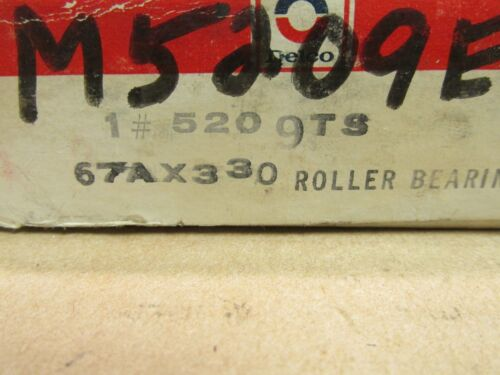 NIB DELCO NDH 5209TS CYLINDRICAL ROLLER BEARING 5209 TS 85mm OD 30 mm W 67AX330