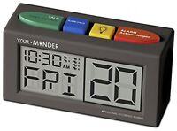 Medicine Alarm - Reminder Clock With Ac Adapter Pills Medication Health Doctor on sale