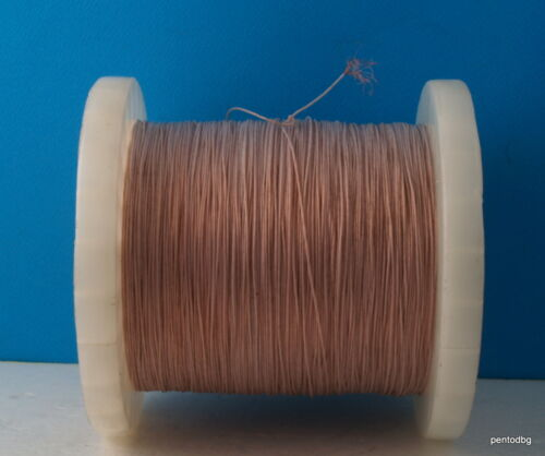 20m~66ft 0.14mm2 26AWG HIGH PURITY COPPER TEFLON PTFE WIRE  USSR  MILITARY