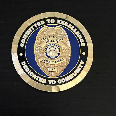 A2 Valdosta Georgia Police Department Challenge Coin