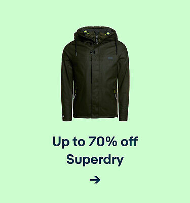 Up to 70% off Superdry