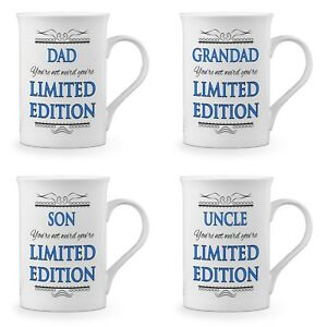 You're Not Weird You're Limited Edition Novelty Gift Fine Bone China Mug - Blue