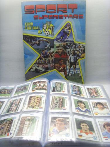 Rec MORKEN SPORT SUPERSTARS//EURO FOOTBALL 82-PANINI-Figurina n.305 BRD