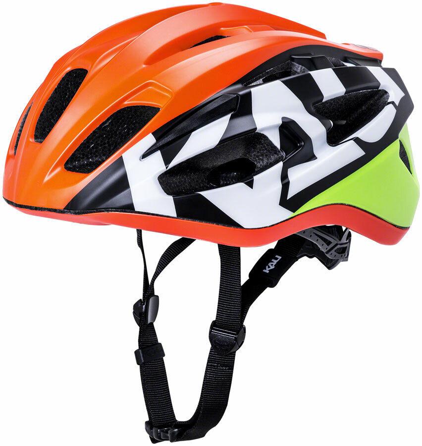 Kali Therapy Century Helmet  Matte orange Yellow LG XL